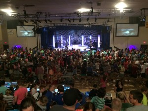MOVE 2015 Night worship 2
